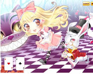 Cute Alice in wonderland online csajos j�t�k