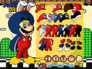 Mario Bros dress up �lt�ztet�s j�t�kok ingyen
