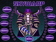 Skywarp dress up online játék