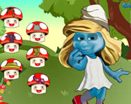 Smurfette dress up game �lt�ztet�s j�t�kok