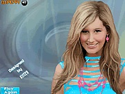 Cute Ashley Tisdale makeover játék